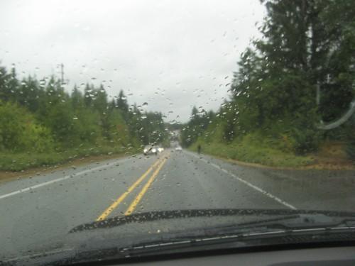 hwy 101 in the rain