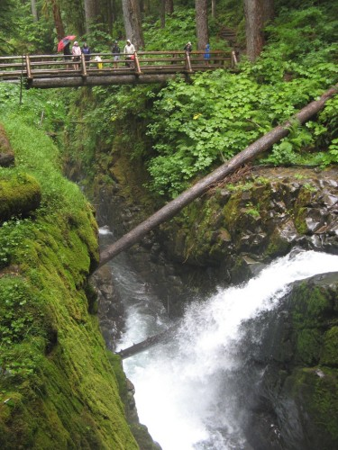 sol duc falls bridge